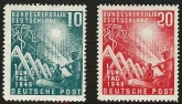 1949 West Germany SG.1033/4