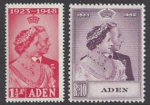 Aden -1948 Royal Silver Wedding SG.30 - 1