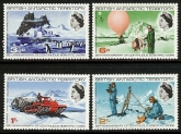1969 British Antarctic. - 25th Anniversary of Continuous Scientific Work SG.20/3 U/M