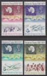 1971 British Antarctic -  10th Anniversary of Antarctic Treaty SG.38/41 u/m