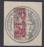 German Post Offices in Caroline Islands SG15a 10pf Carmine Bisect