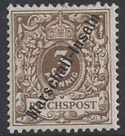 German Post Offces in Marshall Island SG.G1a 3pf pale Brown M/M (expertised)