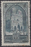 France  1930 Reims Cathedral  SG.472b    Type IIa  VFU