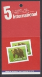 1988 Canada  Booklet SB112 MNH