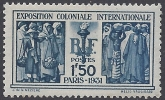 France 1931 Int. Colonial Exhibition SG.492 M/M
