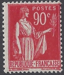 France 1932  'Peace' 90 cent scarlet  SG.511 m/m