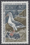 1968 French Antarctic SG.31  Black-browed Albatross u/m (MNH)