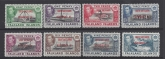 Falkland Island Dependecies - South Shetlands 1944/5 set of 8 values SG C1/8 u/m (MNH)