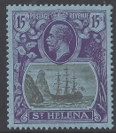 1922 St.Helena KGV 15/-  SG.113 unmounted mint (MNH)