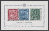 1946 Poland - MS.571d Education Fund Mini Sheet U/M (MNH)