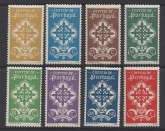 1940 Portugal - SG.904-11 Portugese Legion set 8 values mounted mint.