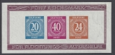 1946 Germany - Allied Occupation - American, British & Soviet Russian Zones - SG. MS925ab mini sheet  Imperf.. U/M (MNH)