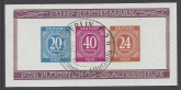 1946 Germany - Allied Occupation - American, British & Soviet Russian Zones - SG. MS925ab  mini sheet  Imperf. very fine used.