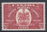 1938 Canada - 20 cent scarlet  Special Delivery SG.S10 u/m (MNH) catalogue value £42.00