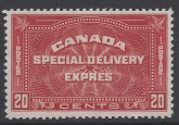 1930 Canada - 20 cent brown-red Special Delivery  SG. S7 u/m (MNH) catalogue value £42.00