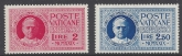 1929 Vatican SG.E14-15 set 2 values Cat. £58 U/M (MNH)