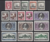 1933 Vatican - SG.19-34 set 16 values Cat. £175 U/M (MNH)
