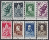 1936 Vatican - SG.47-54  Catholic Press Exhibition Rome set 8 values mounted mint.