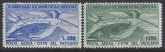 1949 Vatican SG.149 -150   75th Anniversary of Universal Postal Union. set 2 values U/M (MNH) catalogue value £230.00