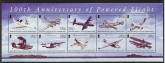 2003 British Indian Ocean Territory. MS.294 Centenary of Powered Flight. mini sheet   u/m (MNH)