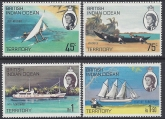 1969 British Indian Ocean Territory - SG.32-5 Ships of the Islands. set 4 values u/m (MNH)