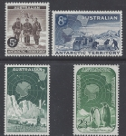 1959 Australian Antarctic Territories. SG.2-5 Members of Shacleton Expedition at South Pole 1909.  set4 values . U/M (MNH)