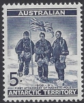1961 Australian Antarctic Territories. SG.6 Members of Shackleton Expedition at South Pole 1909. U/M (MNH)
