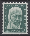 1961 Australian Antarctic Territories. SG.7 50th Anniversary of 1911-14 Australian Antarctic Expedition. U/M (MNH)