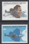 1979 Australian Antarctic Territories. SG.35-6 50th Anniversary of First Flight over South Pole. set 2 values U/M (MNH)