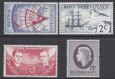 1967 Ross Dependency SG.5-8  Decimal Currency  set of 4 values U/M (MNH)