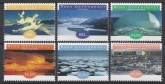 1998 Ross Dependency. SG.54-9   Ice Formations. set 6 values U/M (MNH).