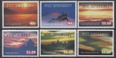 1998 Ross Dependency. SG.60-5  Night Skies. set 6 values U/M (MNH).