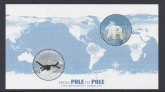 2014 Ross Dependecy. MS.151  From Pole to Pole. mini sheet U/M (MNH)