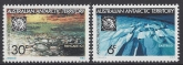 1971 Australian Antarctic Territories. SG.19-20 10th Anniv. oF Antarctic Treaty. set 2 values U/M (MNH)