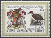 1971 British Indian Ocean Territories.  SG.40 Opening of Research Station on Aldabra. U/M (MNH)
