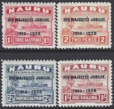 1935 Nauru SG.40-3  Silver Jubilee set 4 values u/m  (MNH)