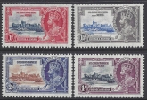 1935 St. Kitts Nevis - Silver Jubilee  SG.61-4 set 4 values U/M (MNH)