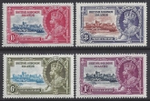 1935 British Solomon Islands - SG.53-6 Silver Jubilee set 4 values u/m  (MNH)