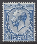 1912-22 King George V   N21(5) 2½d Deep Bright Blue LMM. with RPS Certificate.