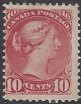 1894 Canada SG.111 10c brownish red perf 12 m/m