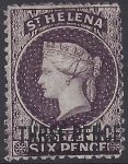 1864 St Helena SG.11 3d dull purple Type B perf 12½ mounted mint