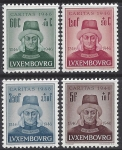 1946 Luxembourg  SG.488-91  6th Centenary of Death of John the Blind. set 4 values U/M (MNH)