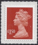 SG.U2913  £1.50 brown-red 'MAIL'   DLR U/M (MNH)