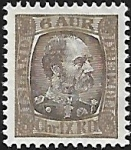 1902 Iceland  SG.46  King Christian IX  6a deep brown & grey brown.  u/m (MNH)