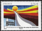 2015  France. SG.5764  70th Anniversary of the Liberation of the Concentration Camps. U/M (MNH)