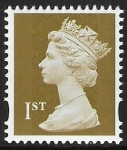 Unlisted  1st gold 2b  'MMIL'   'AM11'  gravure   Walsall U/M (MNH)