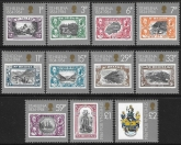 1984 St Helena.  SG.425-35  150th Anniversary of St Helena as a British Colony. set 11 values. U/M (MNH)
