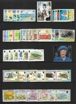 Jersey 2002, sets. Face Value £29.90 @ 50% face value (2pages) U/M (MNH)