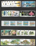2004 Jersey stamps in sets. Face Value £28.60 @ 50% of face value. (2 pages) U/M (MNH)