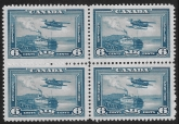 1938 Canada  SG.371 6c blue  block of 4 unmounted mint (MNH)